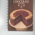 Bakers Book Of Chocolate Riches Cookbook First Printing