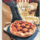 Bon Appetit Magazine June 1995 Country Style A Taste Of The Back Roads