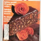 Bon Appetit Magazine November 1985 Holiday Special