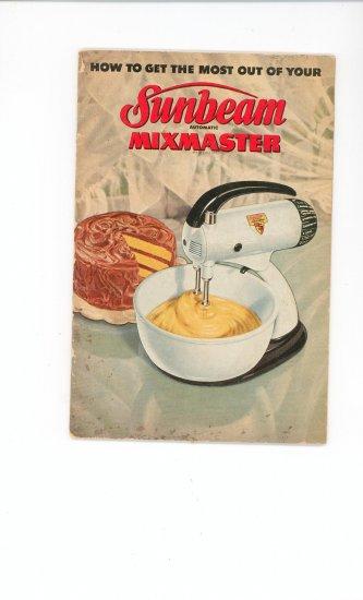 sunbeam mixmaster 1 7a manual