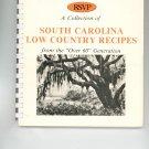 RSVP South Carolina Low Country Recipes Cookbook Regional Retired Seniors