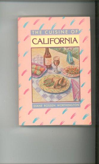 The Cuisine Of California Cookbook by Diane Worthington 0874772877