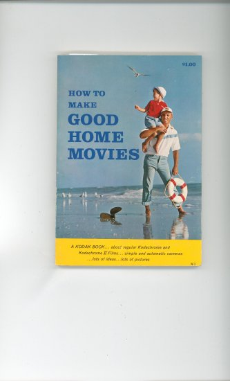 Kodak How To Make Good Home Movies W 3 Vintage