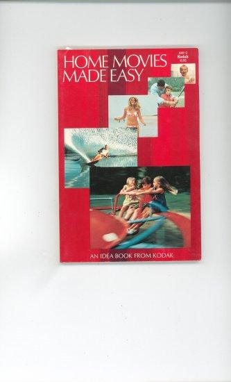Kodak Home Movies Made Easy AW 2 Vintage