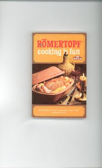 Romertopf Cooking Is Fun Cookbook Plus Brochure 3870590874 Vintage