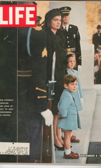 Life Magazine John F Kennedy  December 6 1963 Vintage