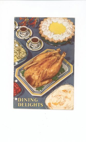 Dining Delights Cookbook By Carol French Vintage
