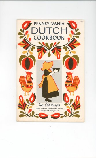 Pennsylvania Dutch Cookbook Vintage