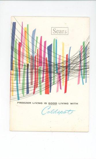 Sears Coldspot Freezer Manual Vintage 1769 & 2749 & 93
