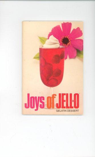 Joys Of Jello Jell-O Cookbook