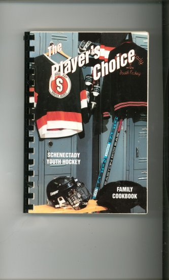 The Players Choice Cookbook Regional New York Youth Hockey