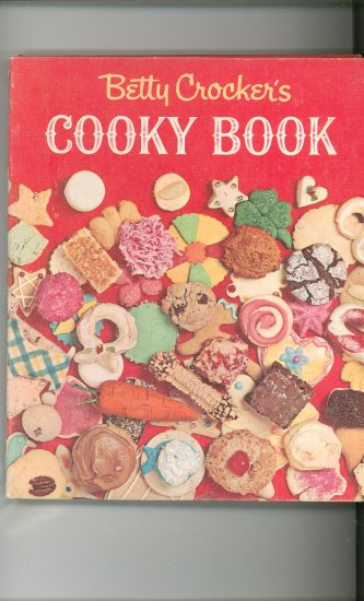 Betty Crockers Cooky Book Cookbook Vintage First Edition First Printing