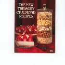 The New Treasury Of Almond Recipes Cookbook Blue Diamond