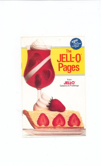 The JellO Pages Cookbook Jell O Jell-O