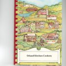 Orland Kitchen Country Cookbook by Cindy Wentworth