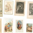 Lot Of 9 Assorted Religious Paper Items