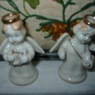 Angel With Halo Salt And Pepper Shakers Vintage