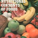 Handbook Of The Nutritional Contents Of Foods 0486213420