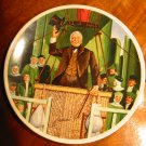 The Wonderful Wizard Of Oz From The Wizard Of Oz Collector Plate Collection With Certificate