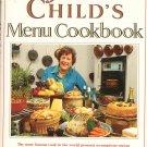 Julia Childs Menu Cookbook 0517064855 Julia Child
