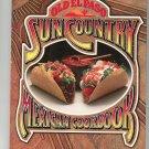 Old El Paso Sun Country Mexican Cookbook Vintage