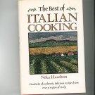 The Best Of Italian Cooking Cookbook by Nika Hazelton 0517679493