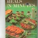 Better Homes & Gardens Meals In Minutes Cookbook Vintage