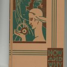 How And Why Knowledge Childrens Book Vintage