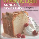 Cooking Light Annual Recipes 2001 Cookbook 0848719972