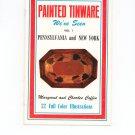 Painted Tinware We've Seen Vol. 1 Pennsylvania & New York Vintage Signed Margaret & Charles Coffin