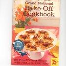 Pillsbury 13th Grand National Cookbook Vintage Item  Error Printing