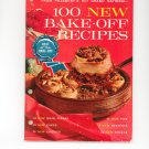 From Pillsbury 15th Grand National 100 New Bake Off Recipes Cookbook Vintage Item