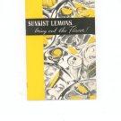 Sunkist Lemons Cookbook Vintage BEAUTY