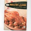 Good Housekeepings Poultry & Game Cookbook #16 Vintage