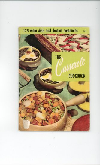 The Casserole Cookbook by Culinary Arts Institute Vintage Item