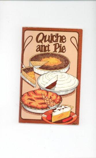 Quiche And Pie Cookbook Vintage