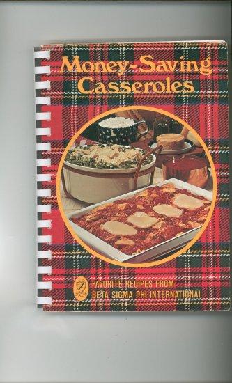 Money Saving Casseroles Cookbook by Beta Sigma Phi International 0871970635