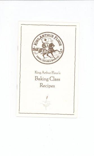 King Arthur Flours Baking Class Recipes Cookbook