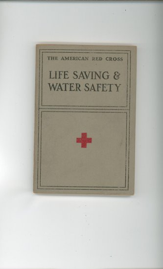 Life Saving & Water Safety Manual by The American Red Cross Vintage