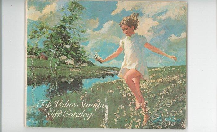 Top Value Merchandise Catalog Plus Top Value Stamp Book Both Vintage Items