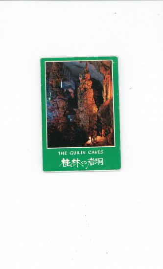 The Guilin Caves Collection Of 10 Postcards With Presentation Envelope Souvenir