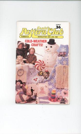 Annies Pattern Club Magazine Number 36 Dec. Jan. 1986