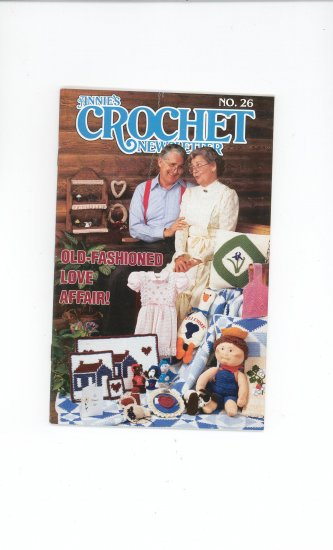 Annies Crochet Newsletter #26 March April 1987