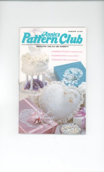 Annies Pattern Club Magazine Number 51 June July 1988