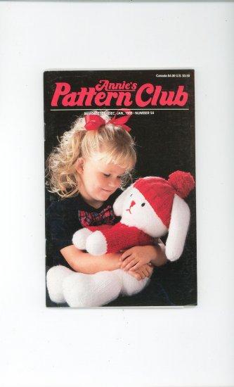 Annies Pattern Club Magazine Number 54 Dec. Jan. 1988