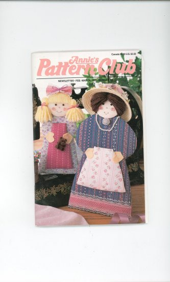 Annies Pattern Club Magazine Number 55 Feb. March1989