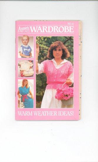 Annies Wardrobe No. 4 July Aug. 1985 Warm Weather Ideas