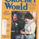 Crochet World Magazine October 1980 Vintage