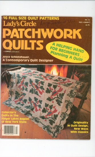 Ladys Circle Patchwork Quilts Magazine No. 17