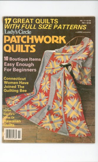 Ladys Circle Patchwork Quilts Magazine No. 11
